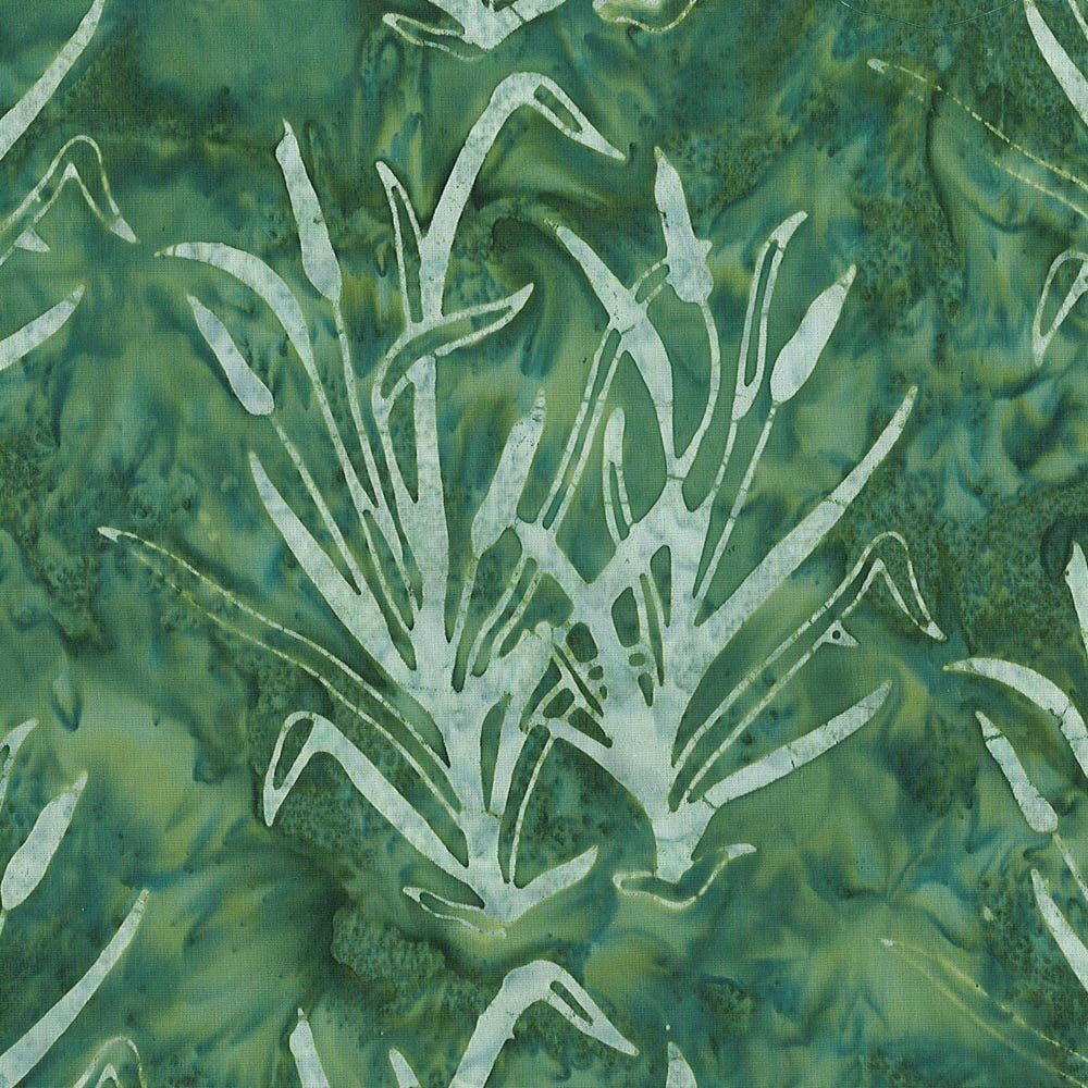 Cantik Batik Nova Scotia Green Cat Tails