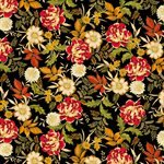 Radiance Fall Floral with Gold Metallic