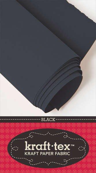 Kraft Tex Paper Fabric Black