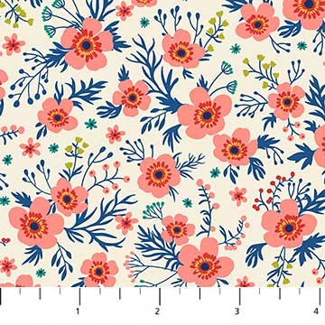 Chloe White Small Floral