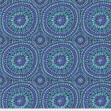 Kaffe Fassett 108 Wide Backing Mandala Turquoise/Purple