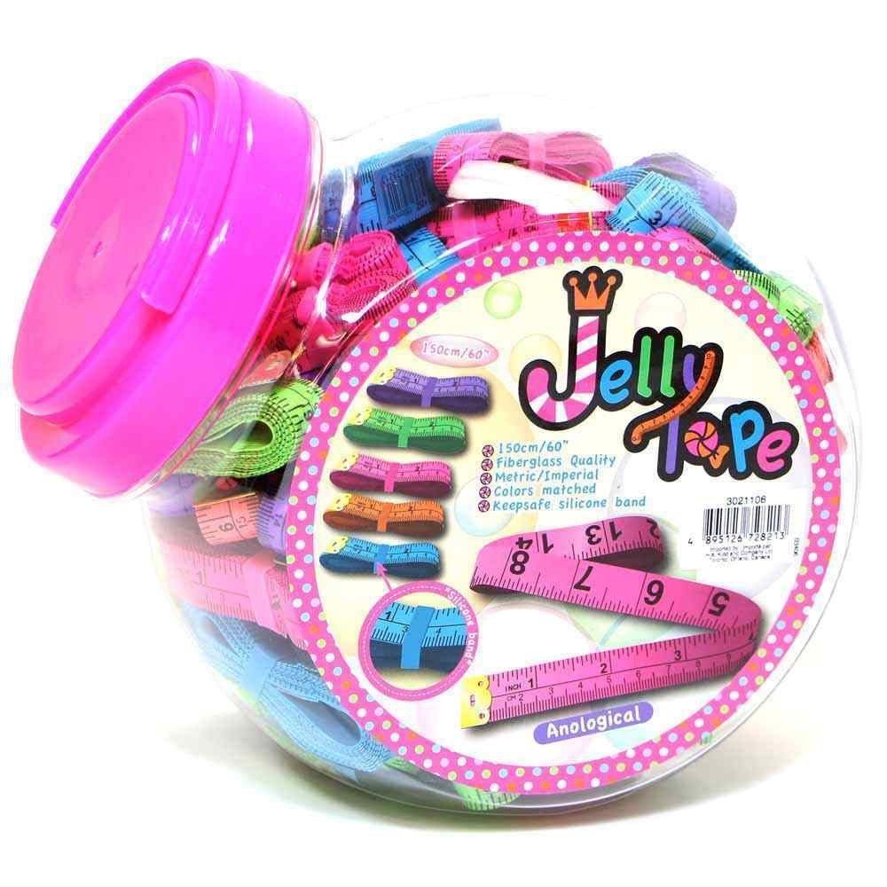 Jelly Tape Measures 150cm/60
