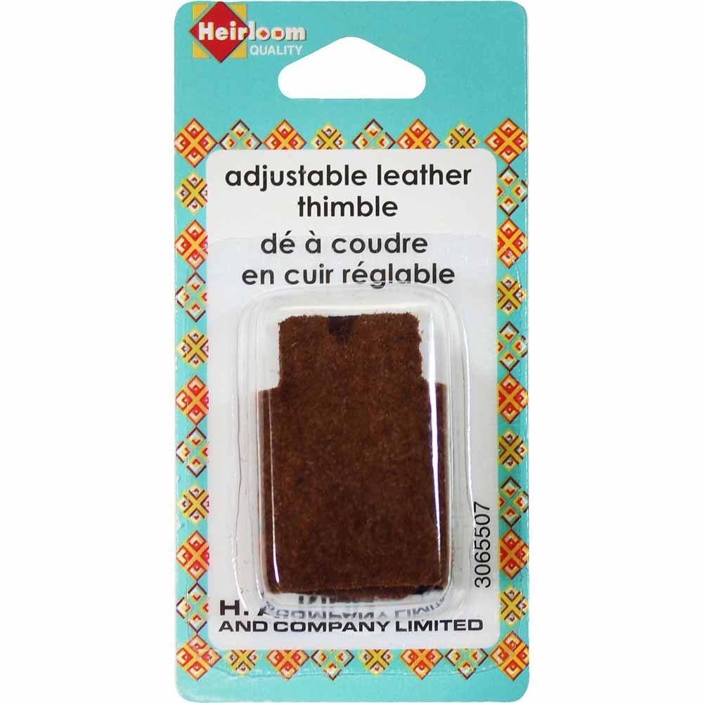 Heirloom Adjustable Leather Thimble