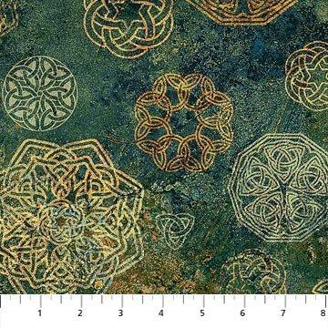 Solstice Celtic Scattered Green/Gold
