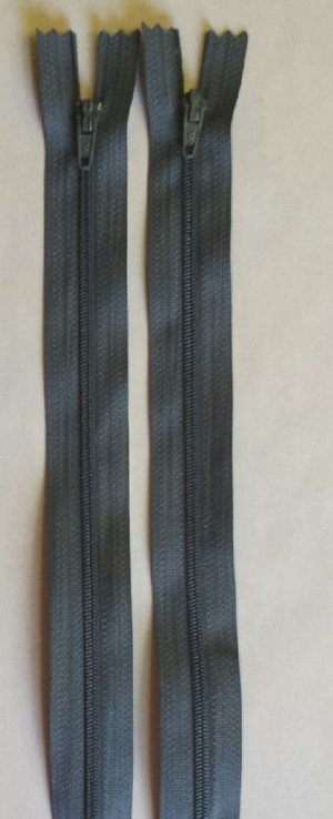 Countess Zipper 18 Dark Grey