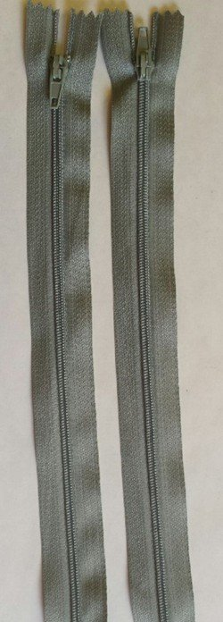Countess Zipper 18 Medium Grey