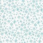 Tahoe Ski Week Teal Snowflakes