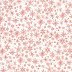 Tahoe Ski Week Coral Snowflakes
