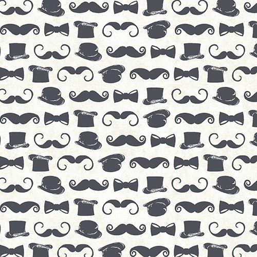 Chillingsworth Bicycle/ Moustache & Top Hat beige