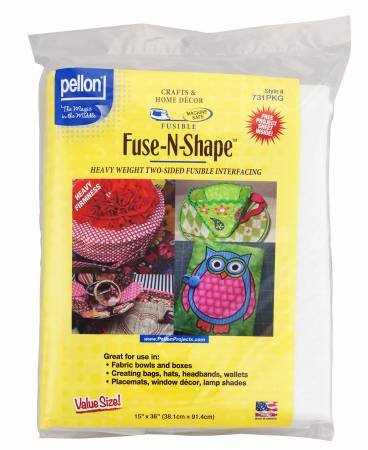 Fuse N Shape Double Sided Firm Interfacing Heavy