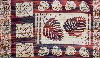 Tapa Cloth Panel 24x 43