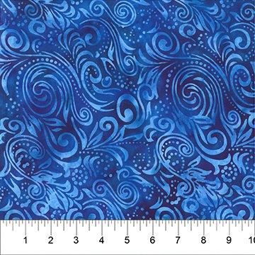 Florentine Turquoise Swirls