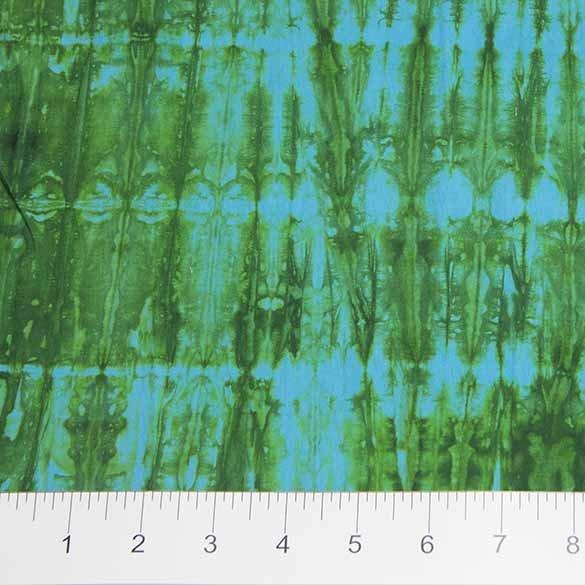 Shibori Green/Turquoise