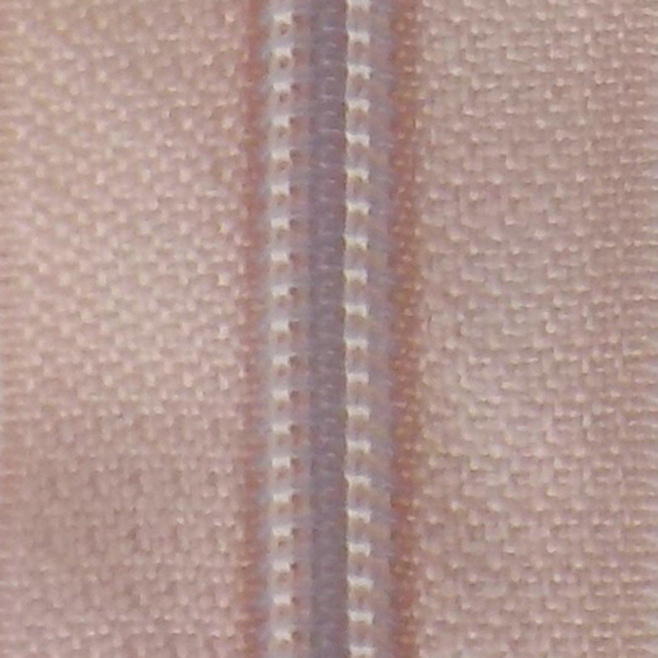 30 Double Pull Non Separating Zipper Vanilla Cream