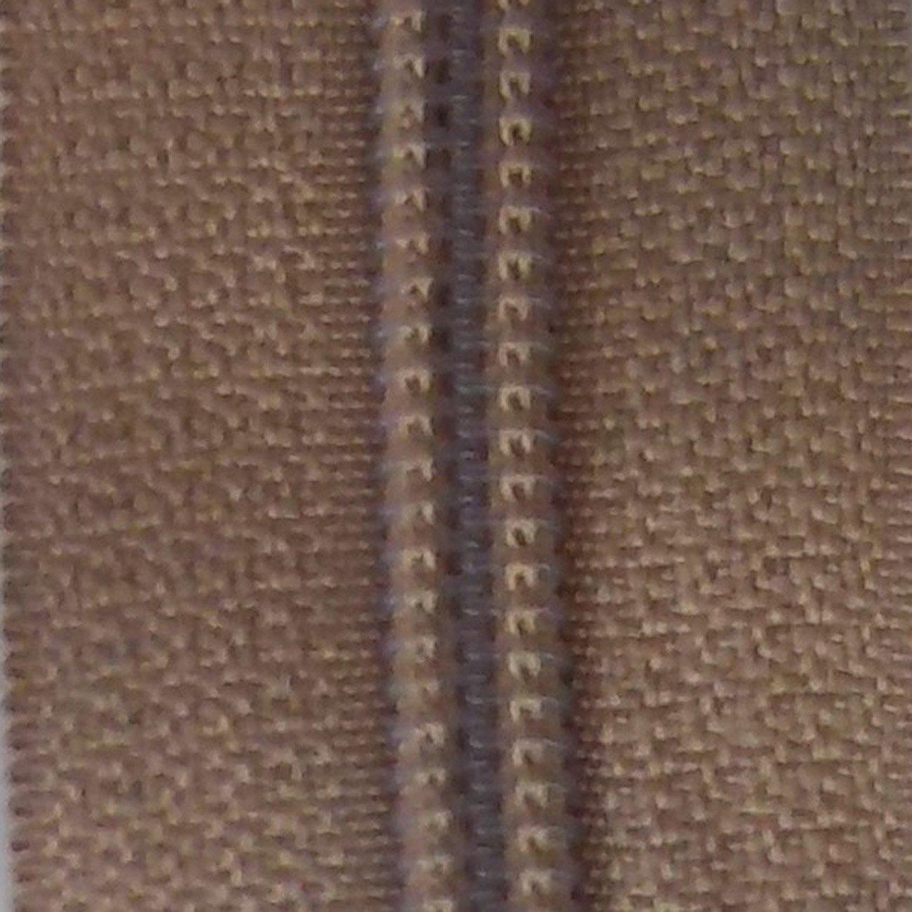 14 Nylon Coil Zipper Natural