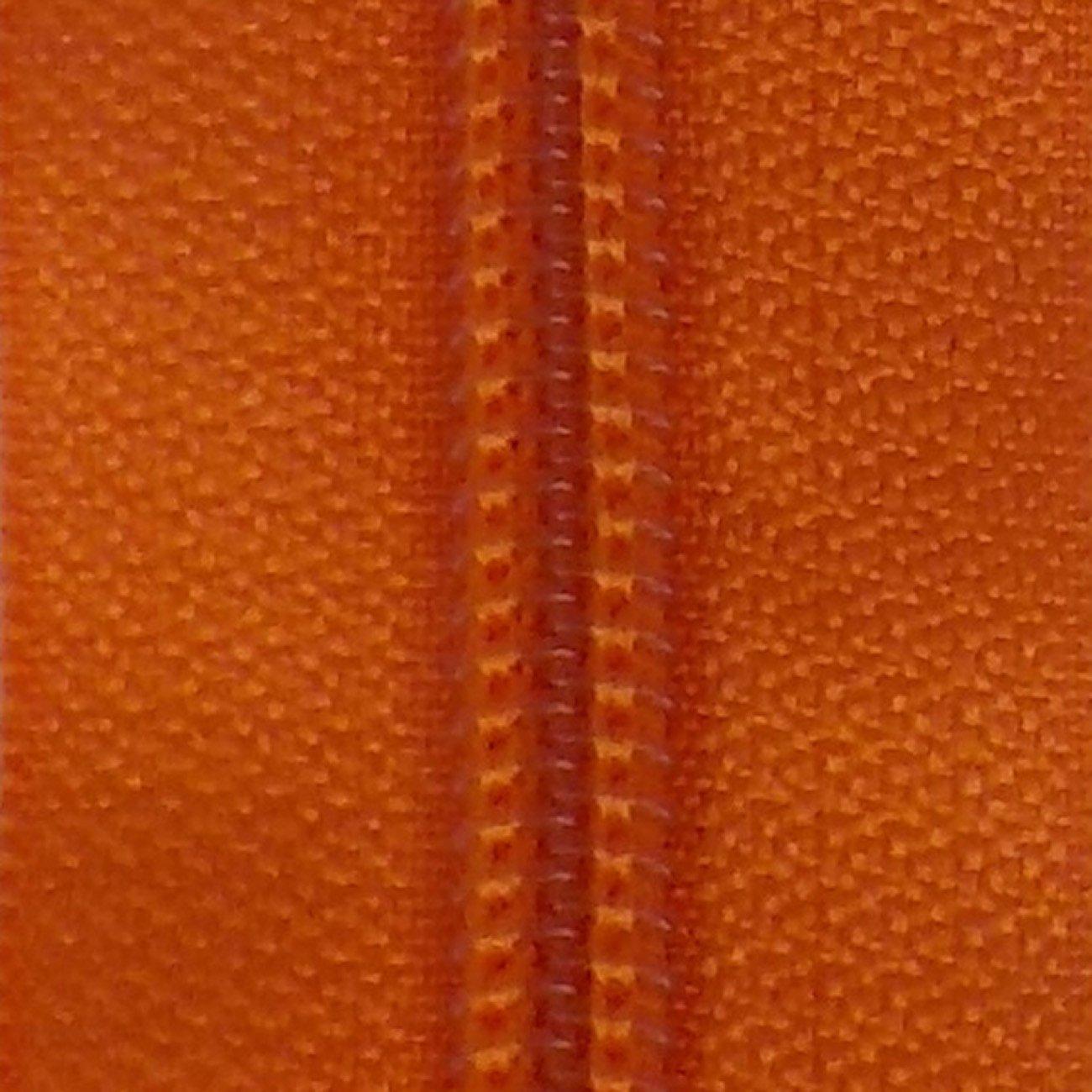 14 Nylon Coil Zipper Persimmon