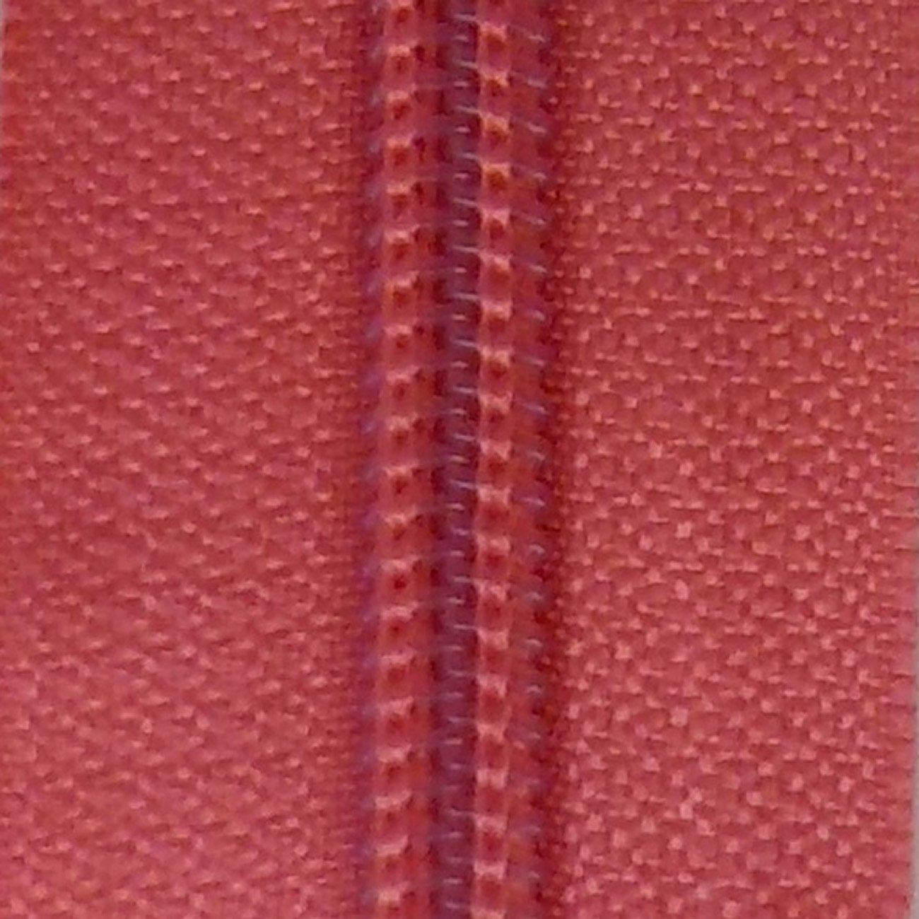 14 Nylon Coil Zipper Sugar Coral