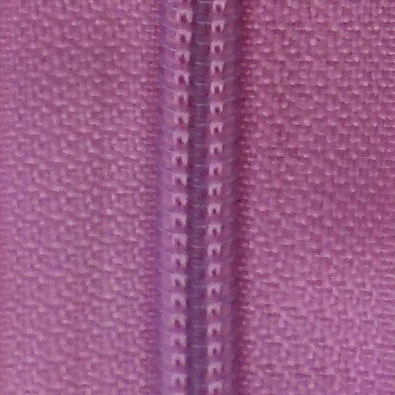 30 Double Pull Non Separating Zipper Cyclamen