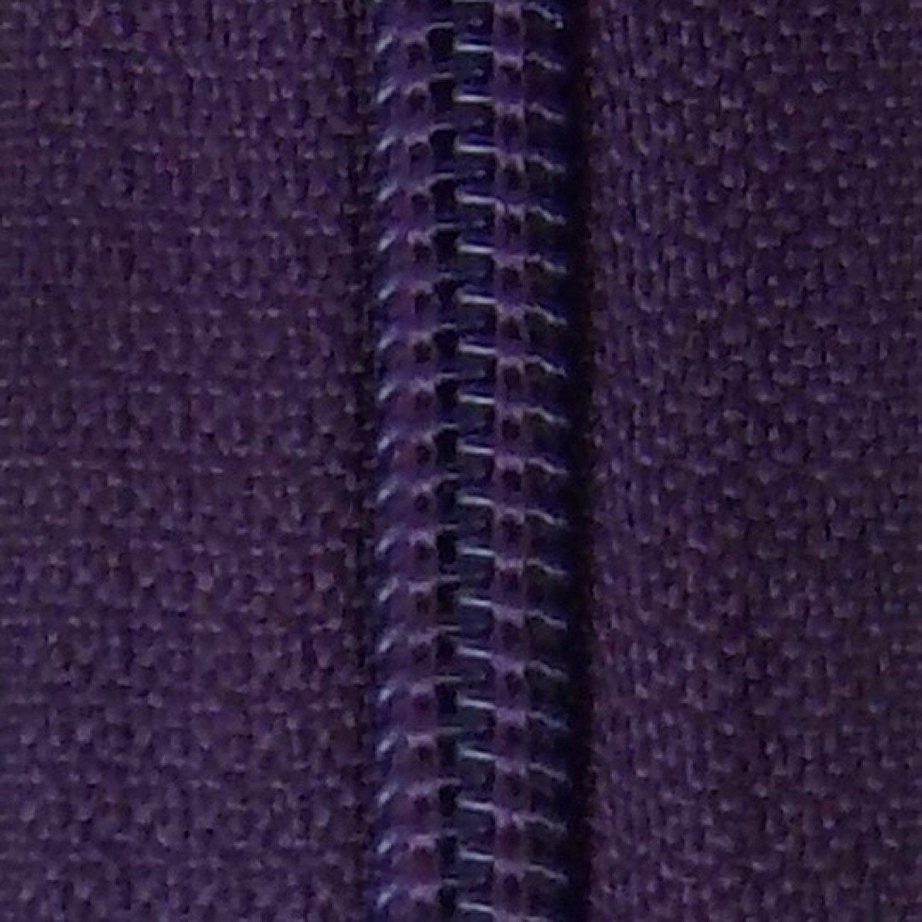 14 Nylon Coil Zipper Wineberry