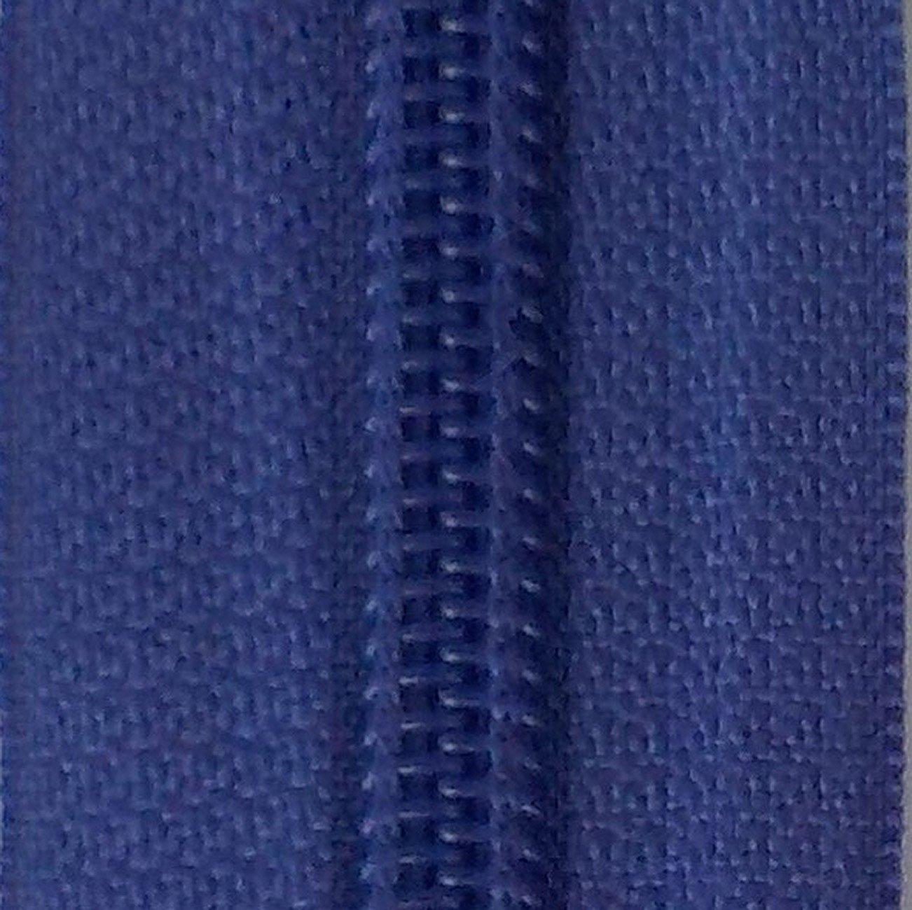 14 Nylon Coil Zipper Dusted Peri