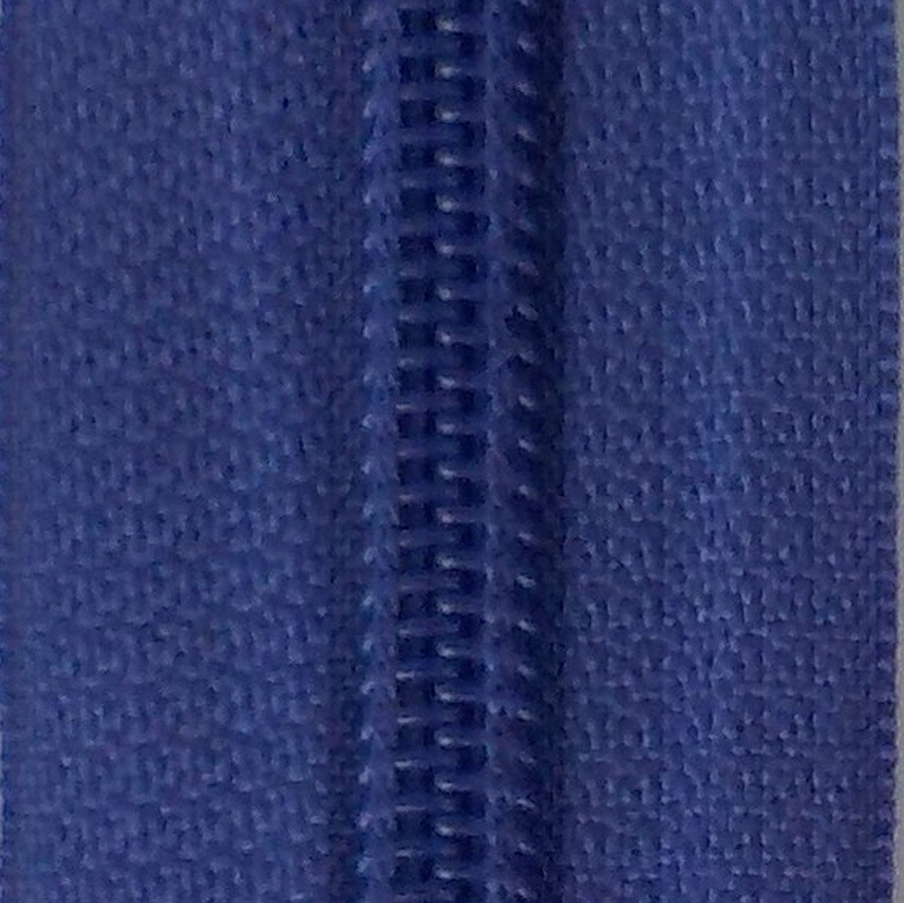 30 Double Pull Non Separating Zipper Dusted Peri
