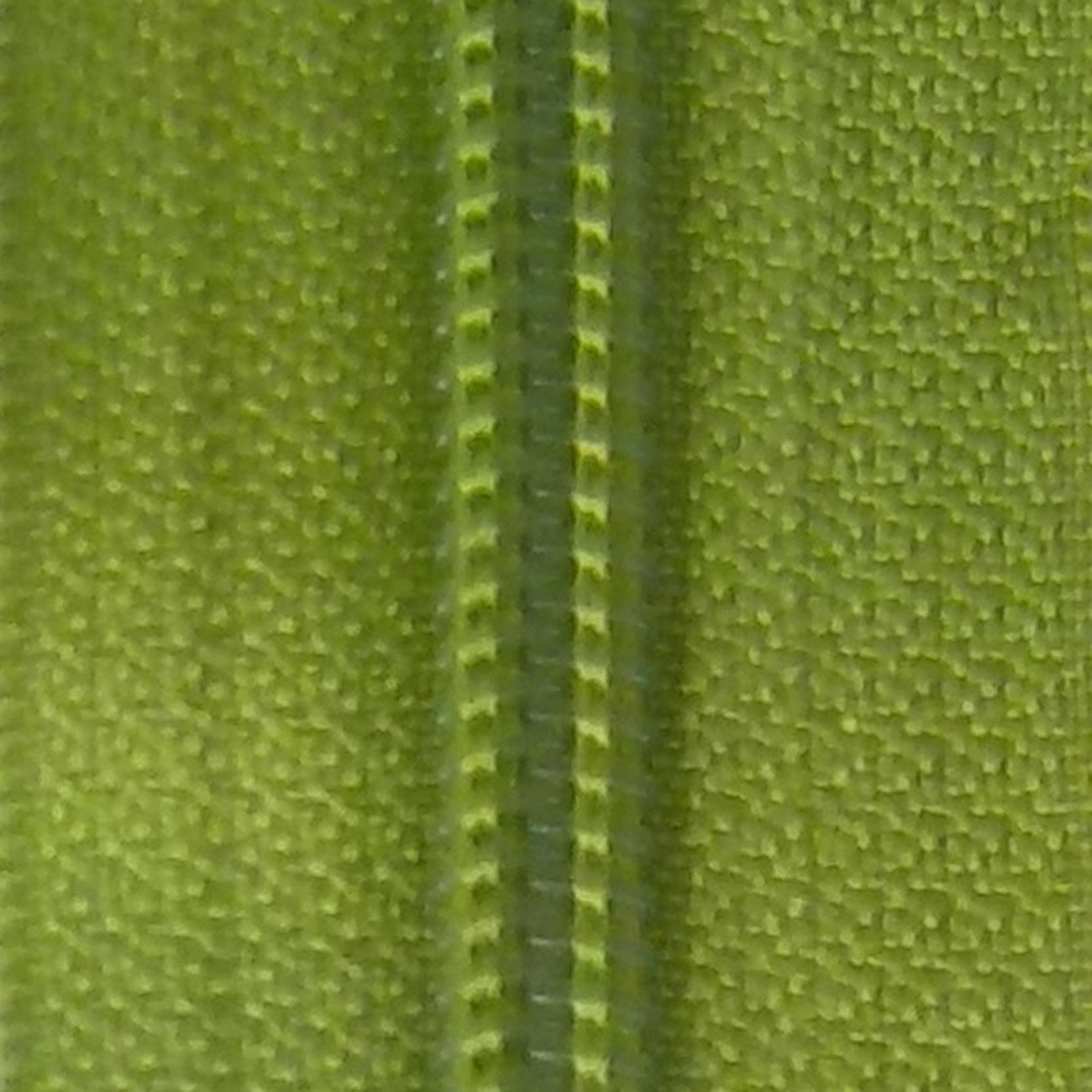 30 Double Pull Non Separating Zipper Lime Green
