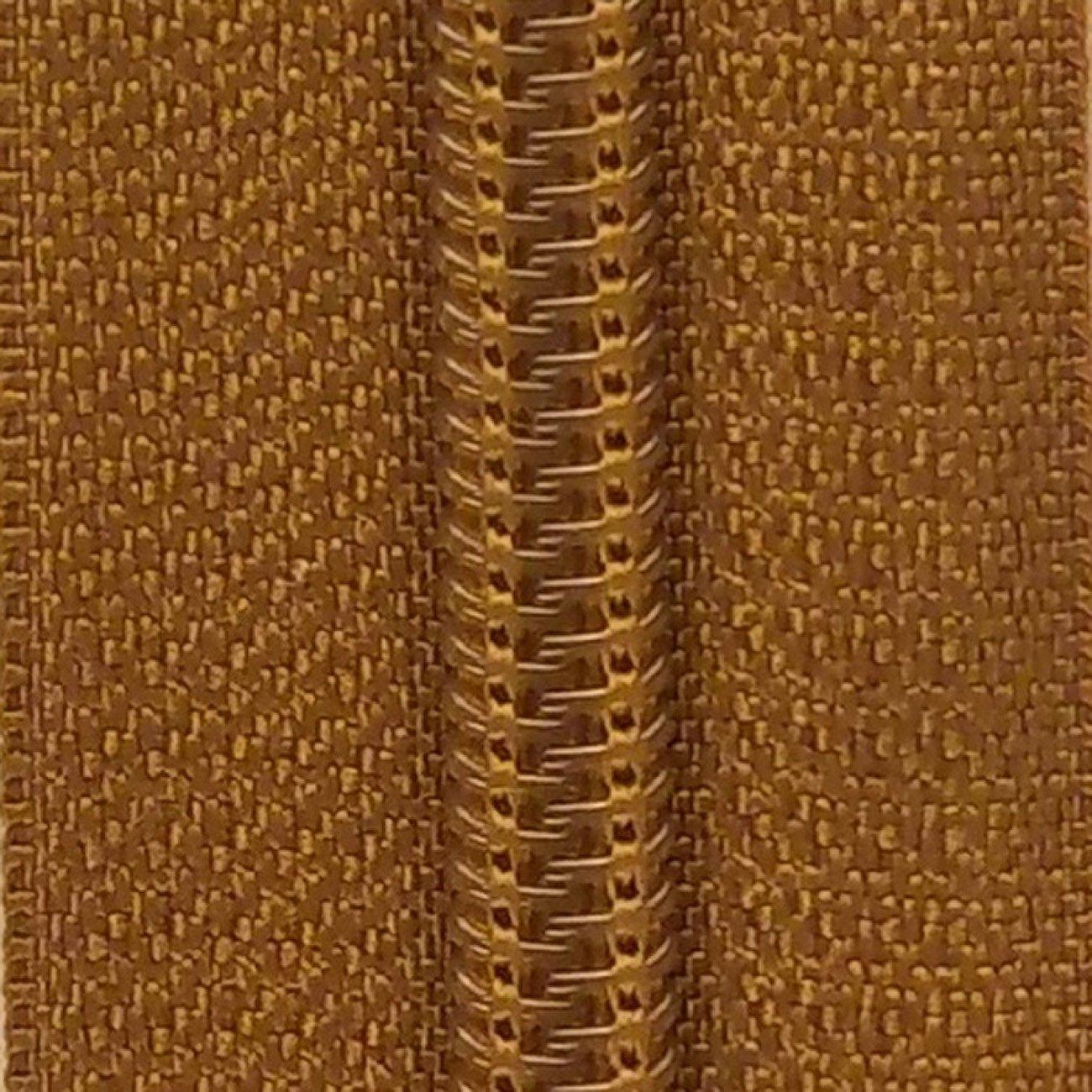 14 Nylon Coil Zipper Bronze Mist