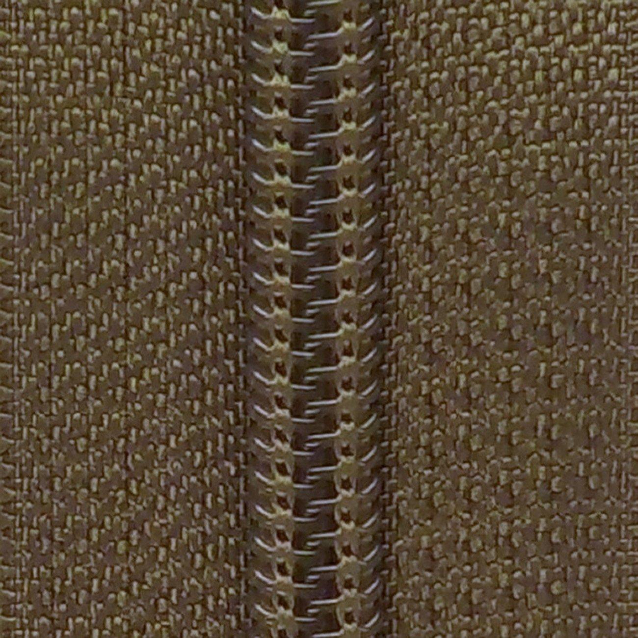 14 Nylon Coil Zipper Olive Drab