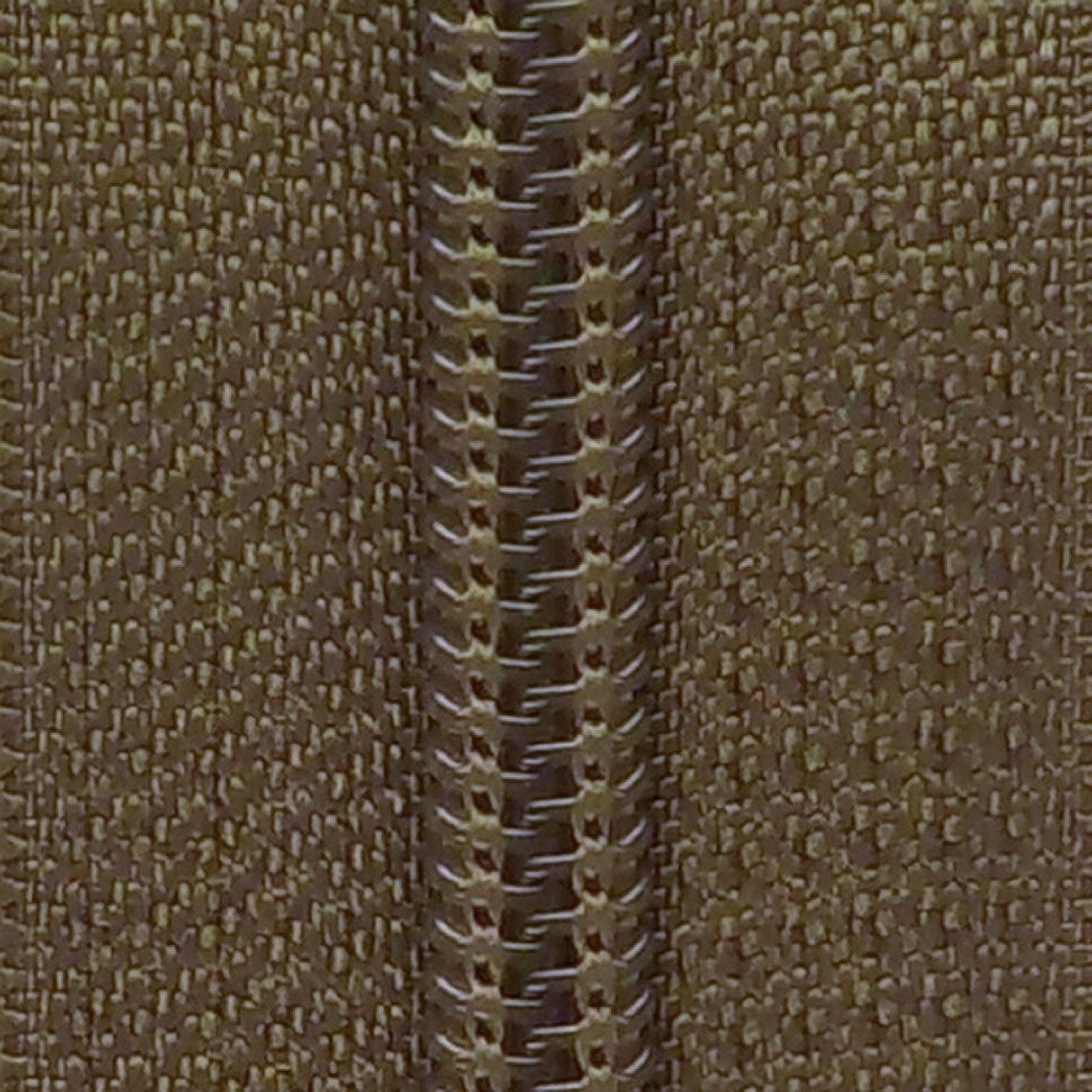 30 Double Pull Non Separating Zipper Olive Drab