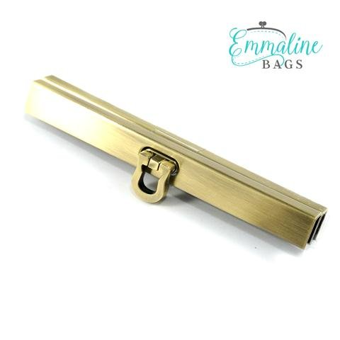 Mini Wallet Frame Brushed Antique Brass