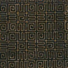 Cantik Batik Aztec Black/Carmel