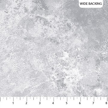 Flannel 108 Wide Backing Grey