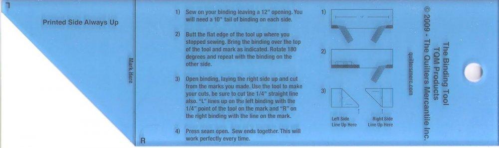 The Binding Tool