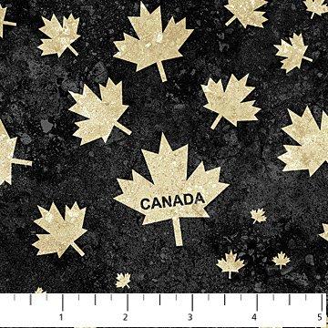 Stonehenge Oh Canada Black Leaves