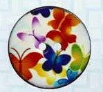 Coconut Multi Butterfly Round