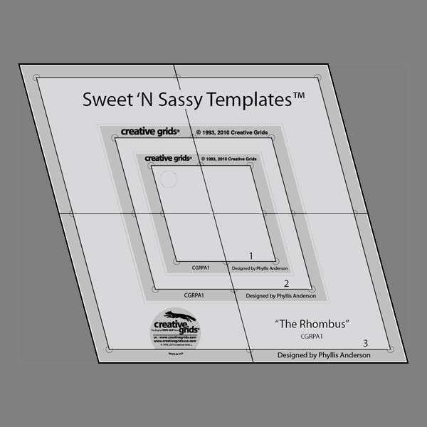 Creative Grids Sweet 'n Sassy Templates