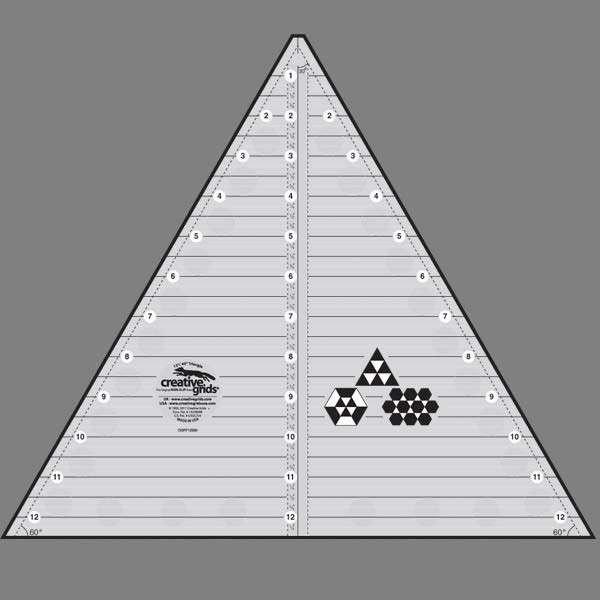 Creative Grids 60 degree Triangle 12.5''
