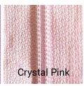 14 Nylon Coil Zipper Crystal Pink