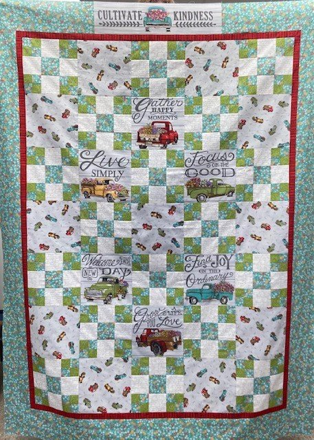 Cultivate Kindness Irish Chain Quilt Kit