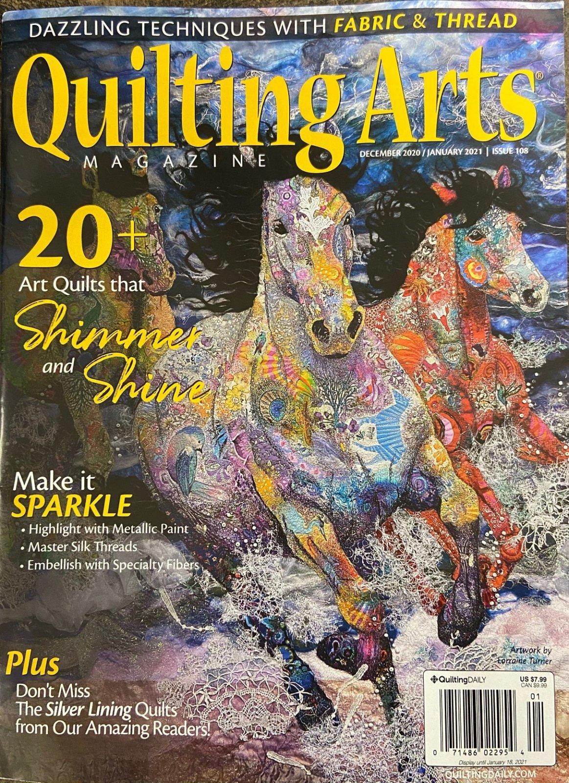 Quilting Arts Dec 2020/Jan 2021 Issue 108