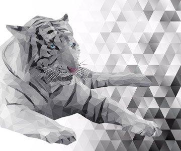 Majestic Tiger Panel