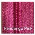 22 Non-separating Zipper Fandango Pink