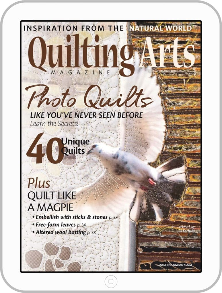 Quilting Arts Feb/March 2020 Issue 103