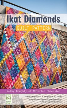 IKat Diamonds Quilt by Kathy Doughty