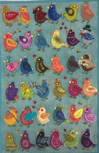 Chick Play Wall Hanging