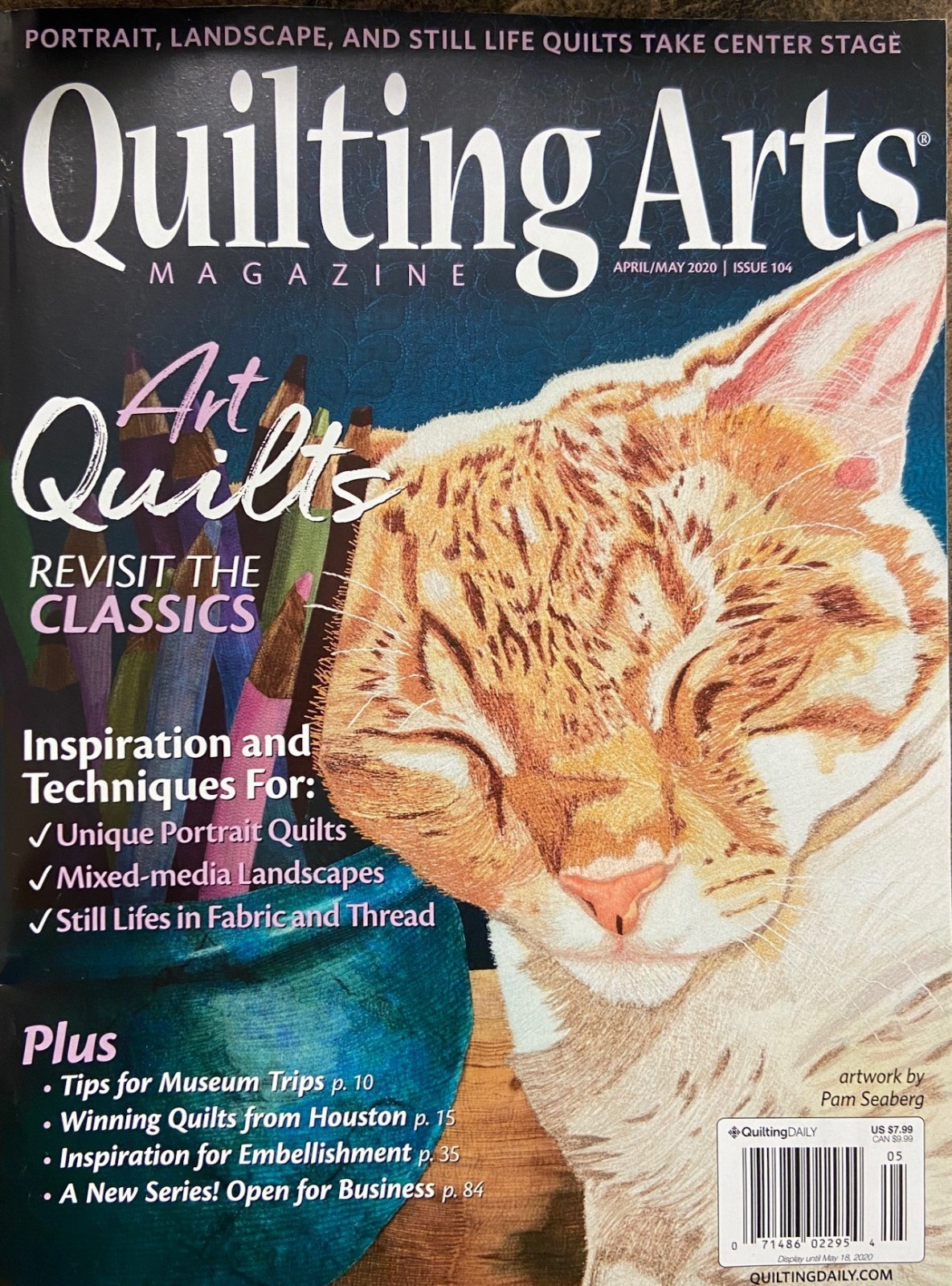 Quilting Arts April/May 2020 Issue 104