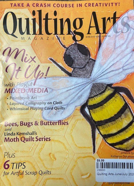 Quilting Arts June/July 2020 Issue 105
