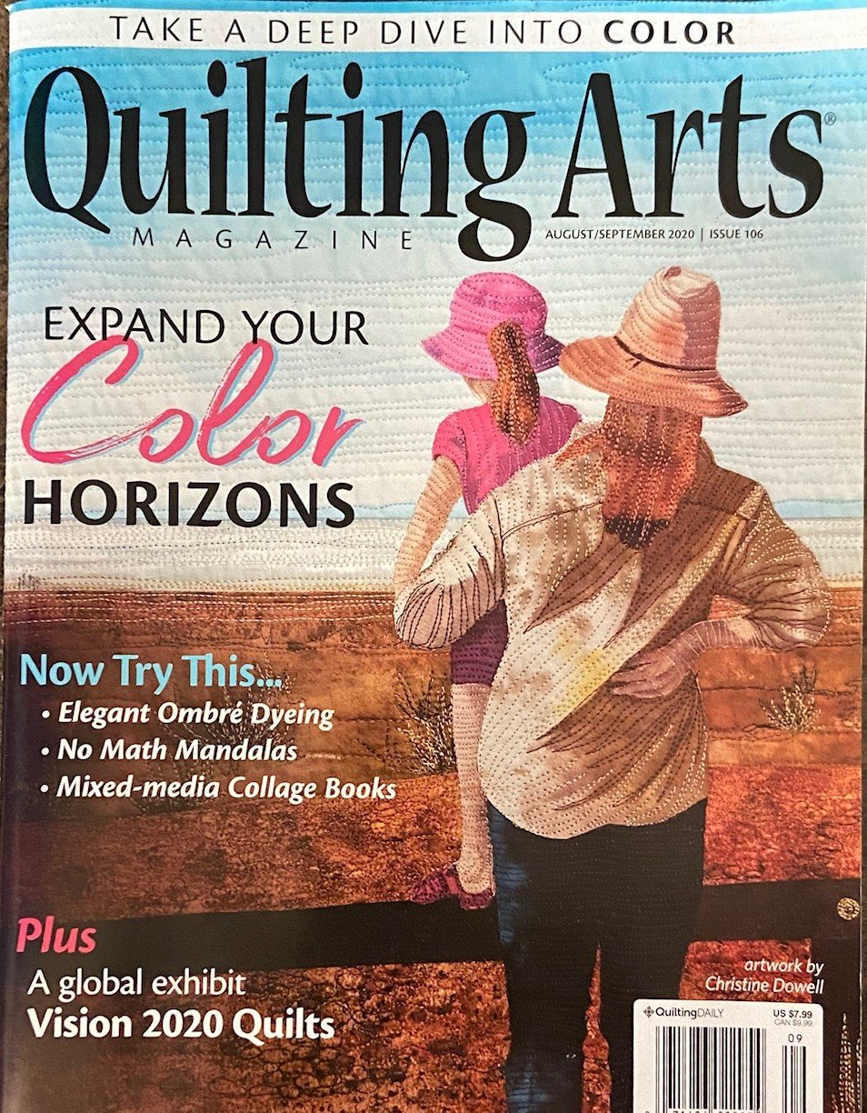 Quilting Arts August/September 2020 Issue 106