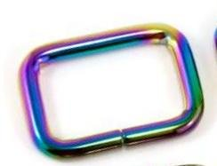 Rectangle Rings 1 Irridescent
