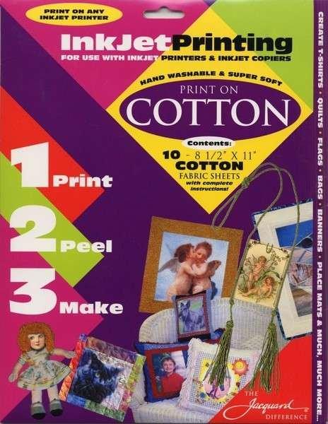 Jacquard Inkjet Fabric Sheets per sheet